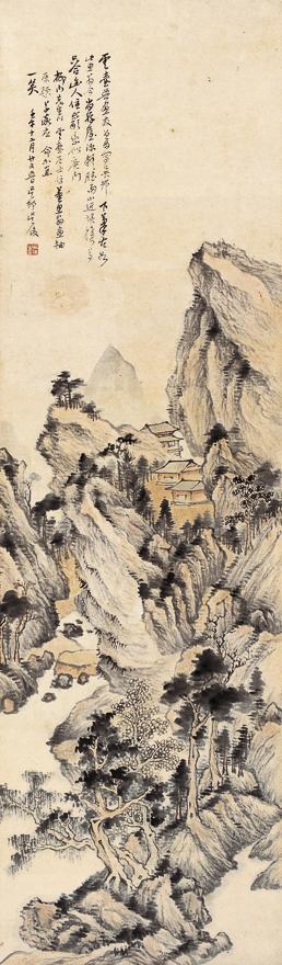 江山萧寺图
