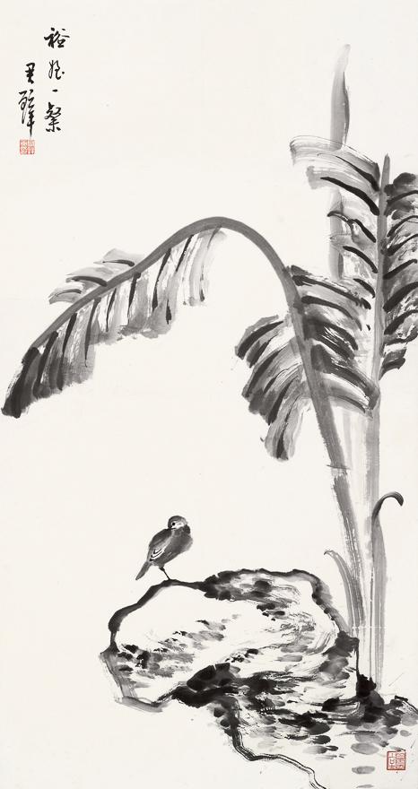 拟八大蕉荫小鸟