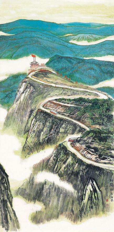 井冈山黄洋界