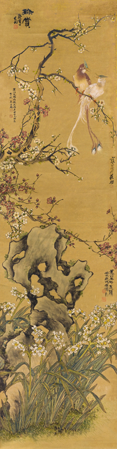 绶带春庆图
