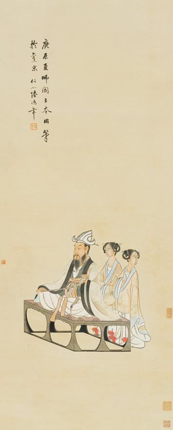 擬唐人人物图