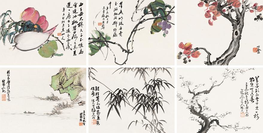 花卉蔬果合册