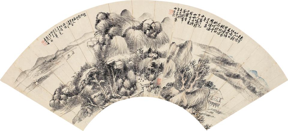 江山帆影图