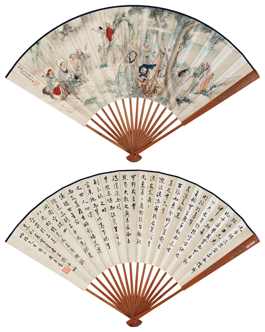 佛教故事图、《大唐三藏圣教序碑》