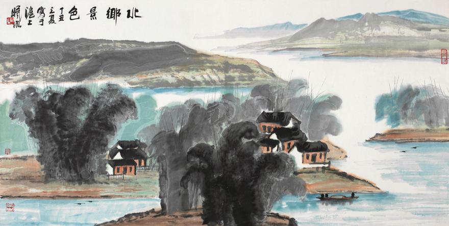 北乡景色图
