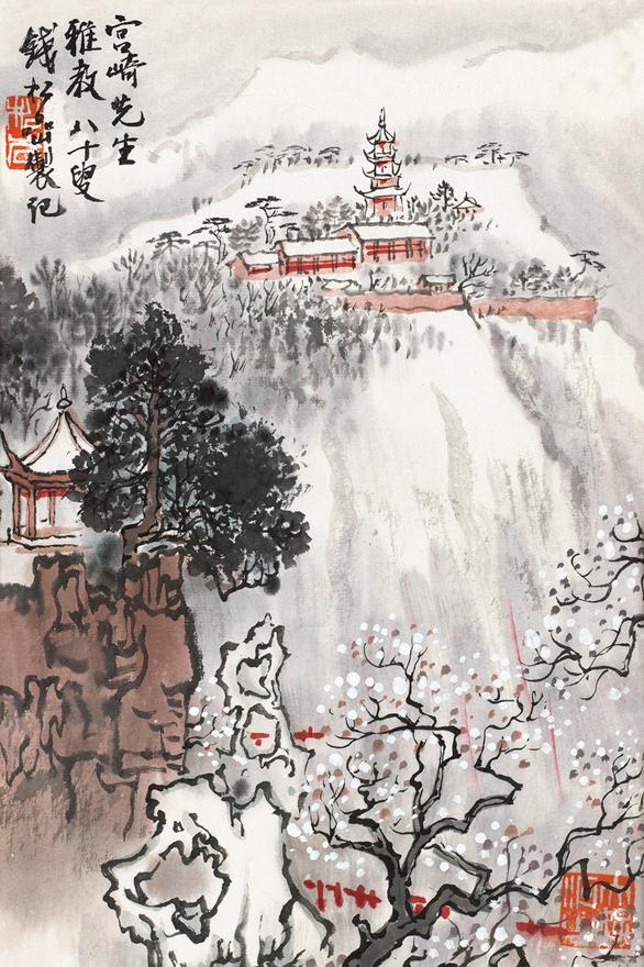 雪顶宫宇图