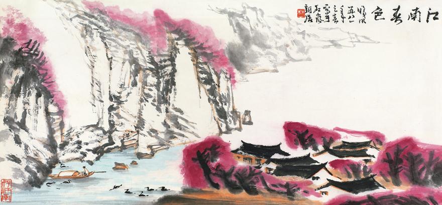 江南春色图