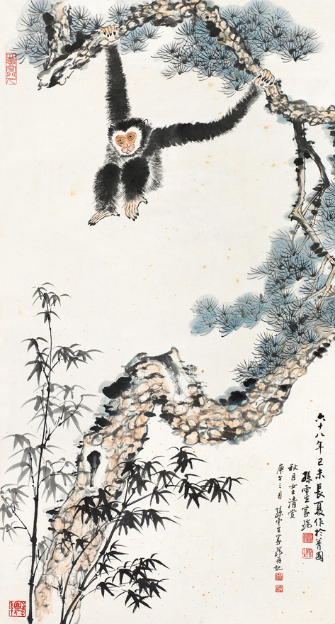 松树长臂猿
