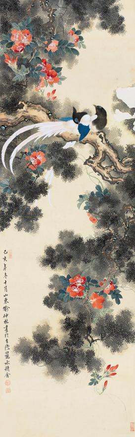 锦林雉鸡图