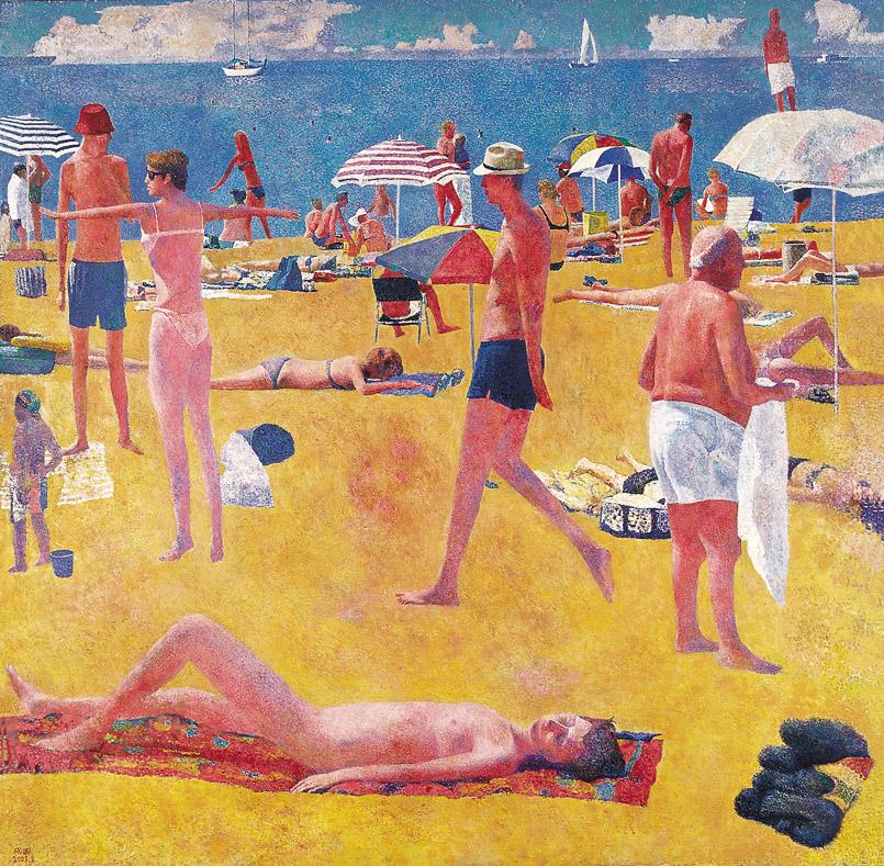金色沙滩-蓝色海洋
