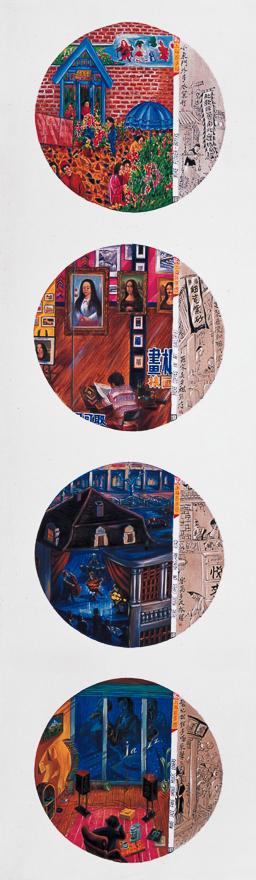 上海百多图(两幅)