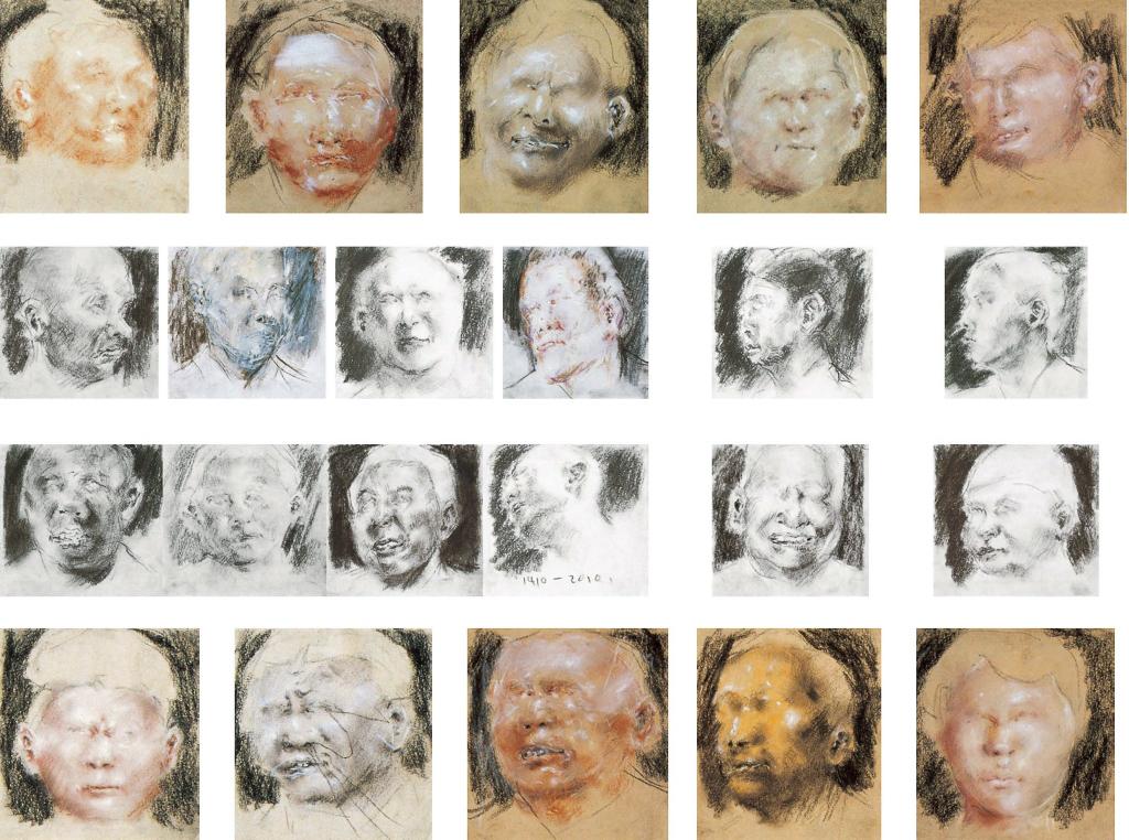 肖像系列(二十四幅)