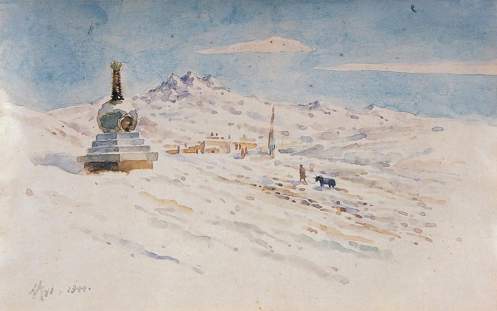 雪景(两幅)