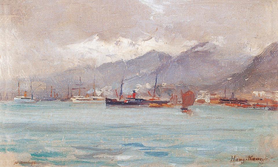 1894年的香港、上海、北京、北京(四幅)