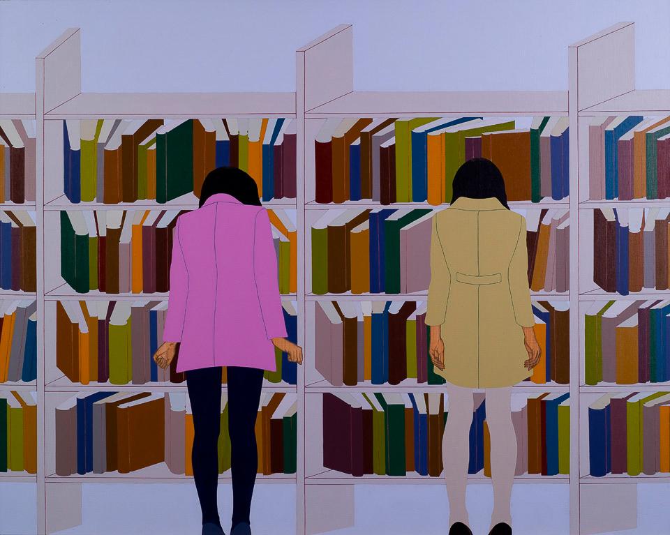 图式智力形象—图书馆
