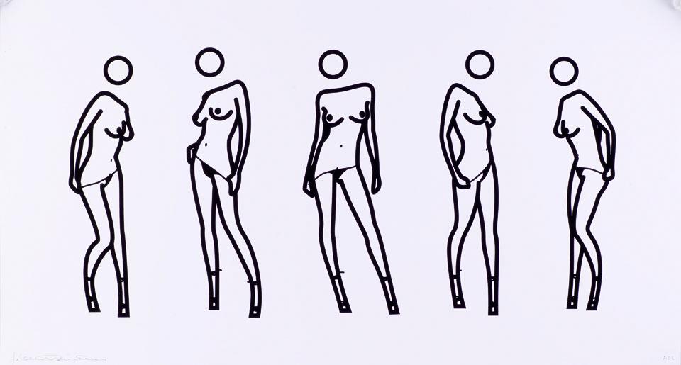 脱衣服的女人 No.8 (AP 4/10)