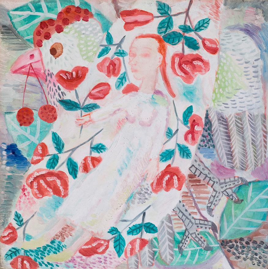 女孩与花与鸟 NO.1