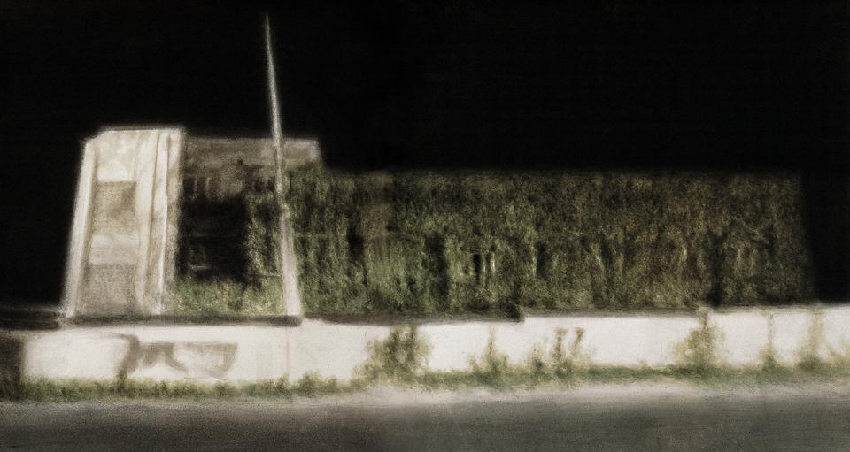 爬藤蔓的房子