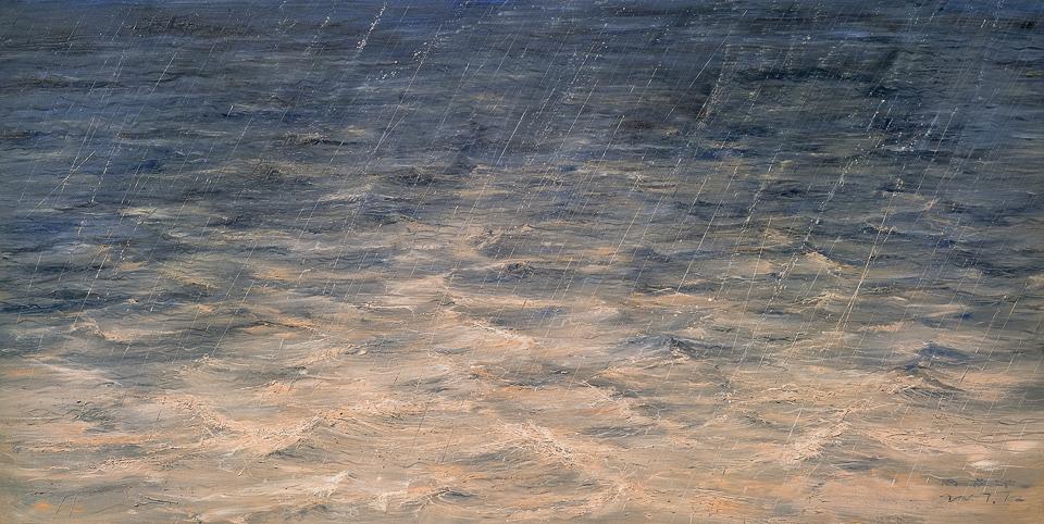 落入江中的雨