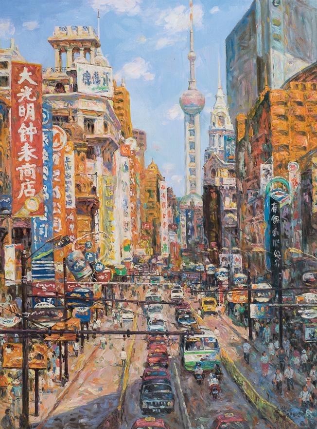 上海盛市-南京路