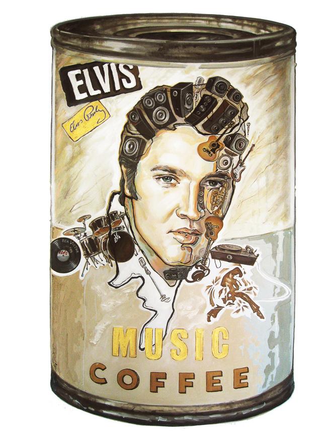 音乐的咖啡—猫王系列 No.1