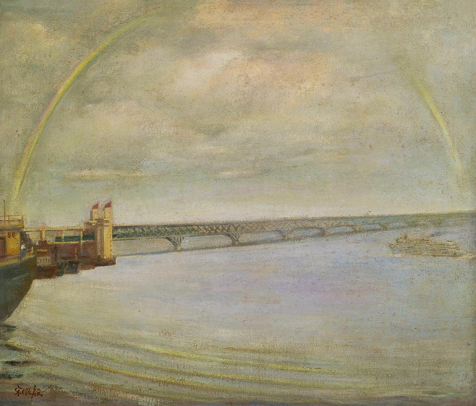 长江大桥桥头堡