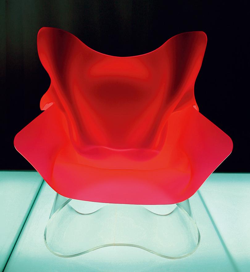 概念椅 (062007-R-BR-001)