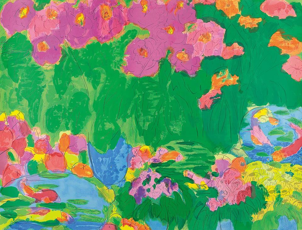 桃和鲜花 (201/250)