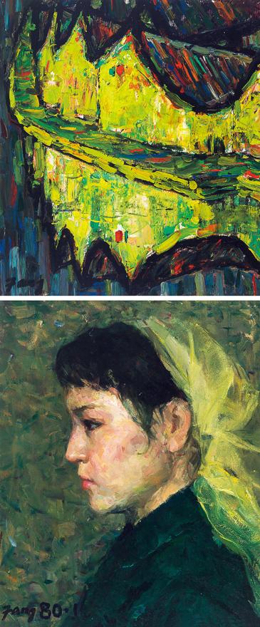 肖像/风景 (两幅)