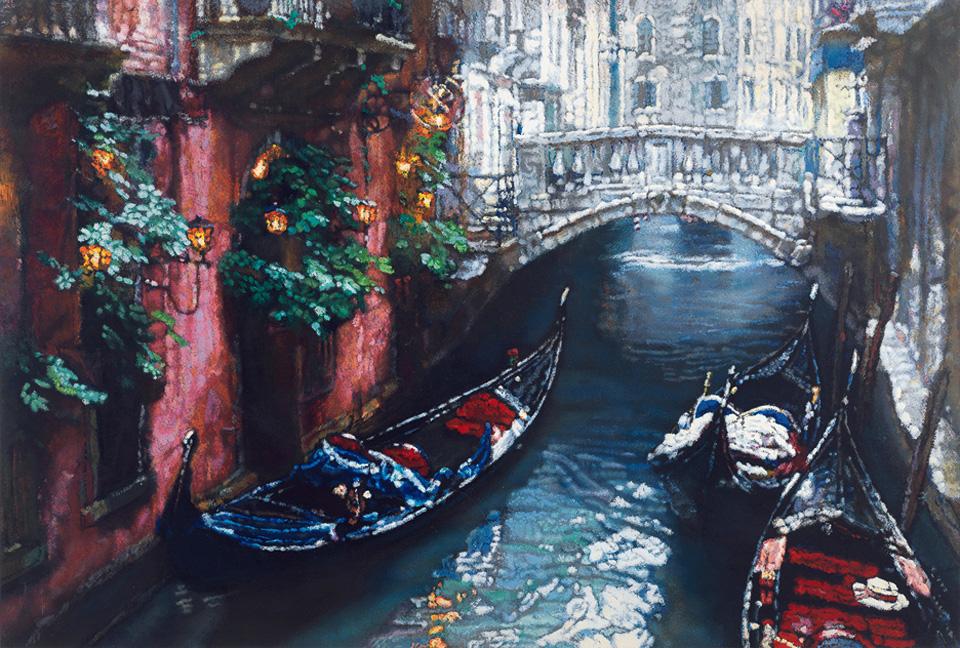 威尼斯桥(桥之光)(152/250)