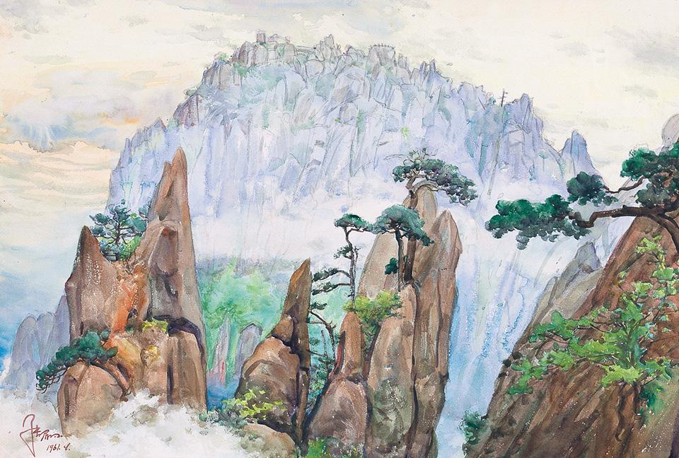 黄山蓬莱三岛