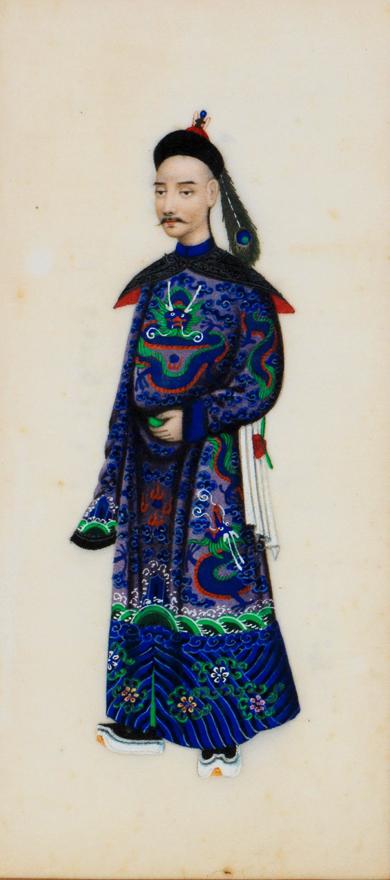 清宫人物图(六幅)