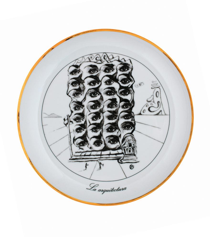七种艺术瓷盘(一组七件)