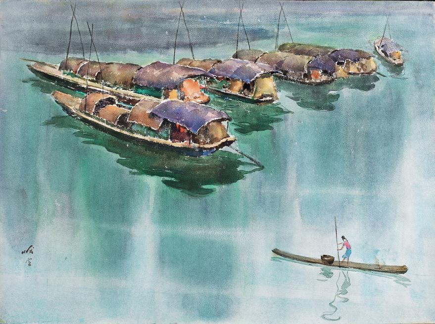 静静的渔港