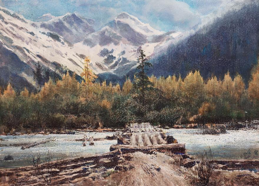 玉龙圣雪山
