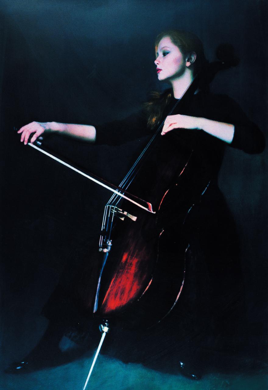 拉大提琴的少女(135/300)