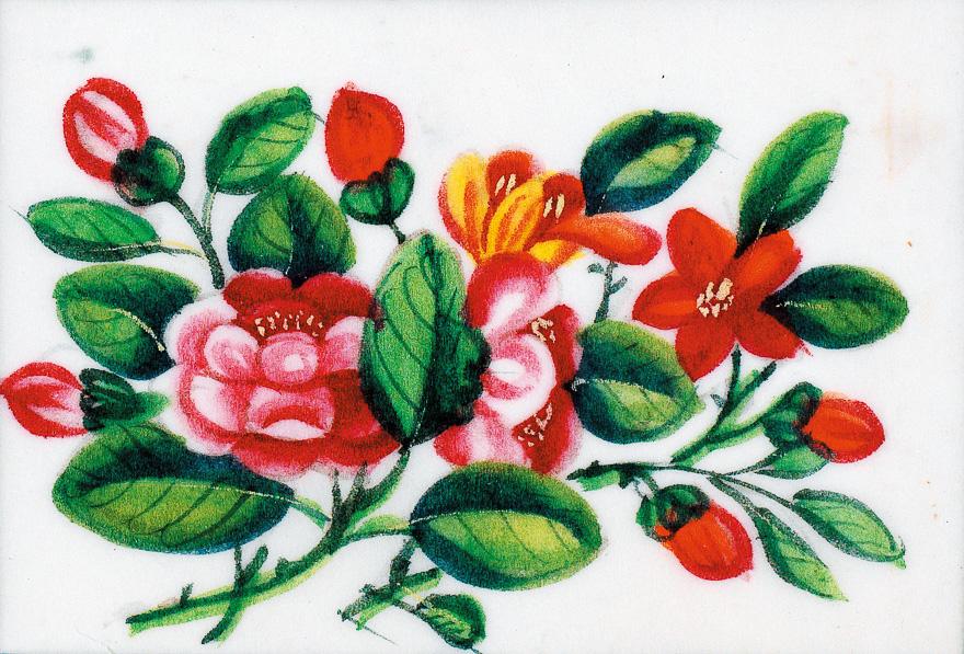 花·鸟·蝶(一组十二幅)