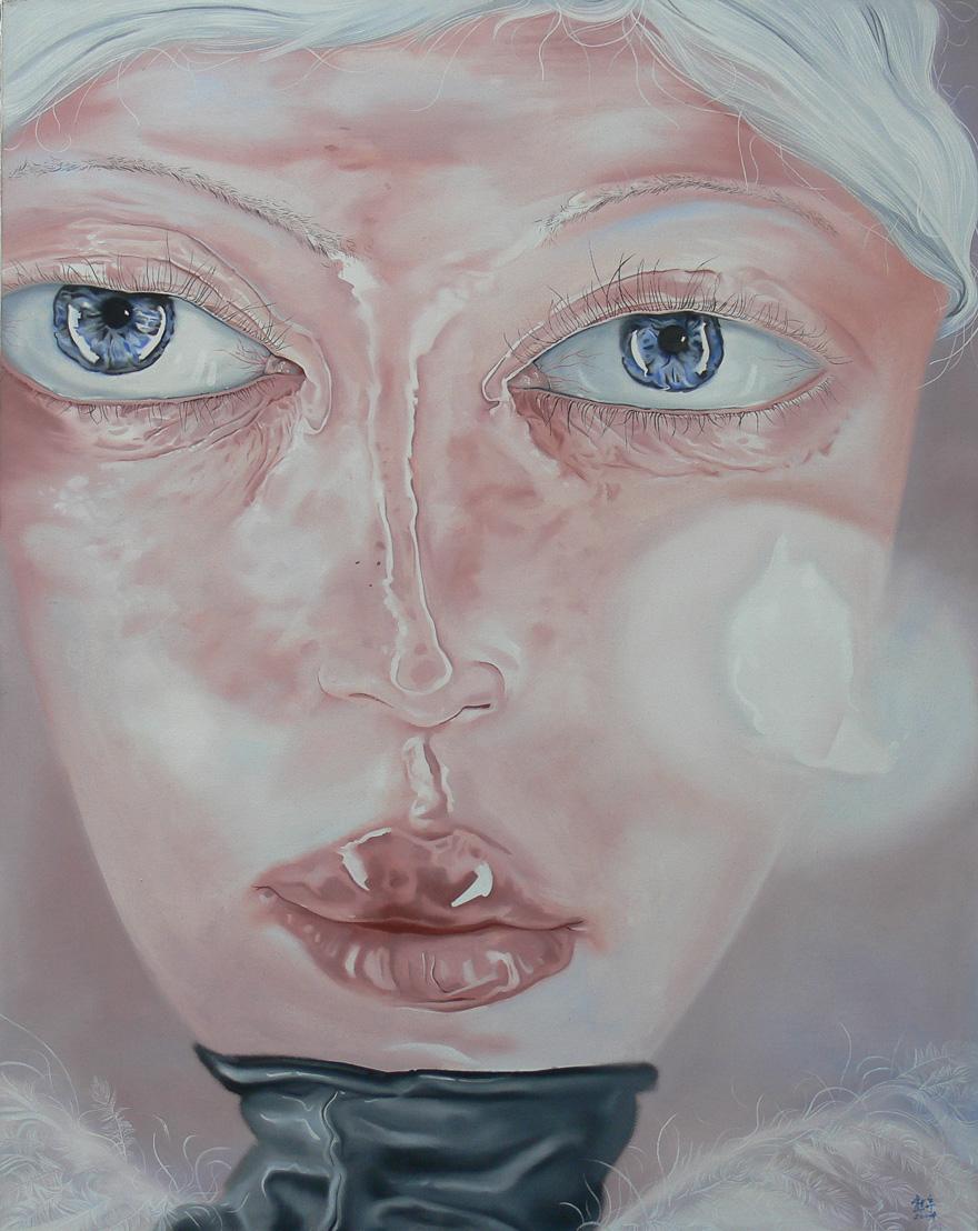 灰羽的肖像