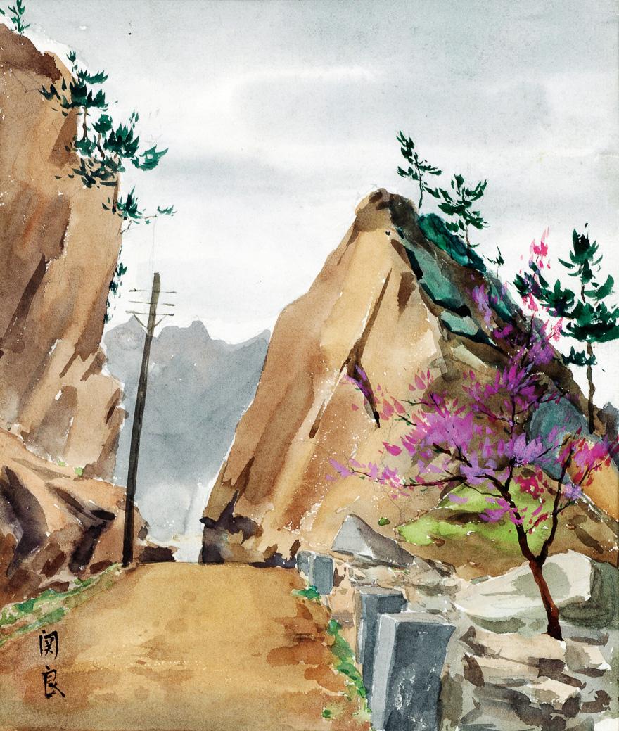 崂山风景(一)