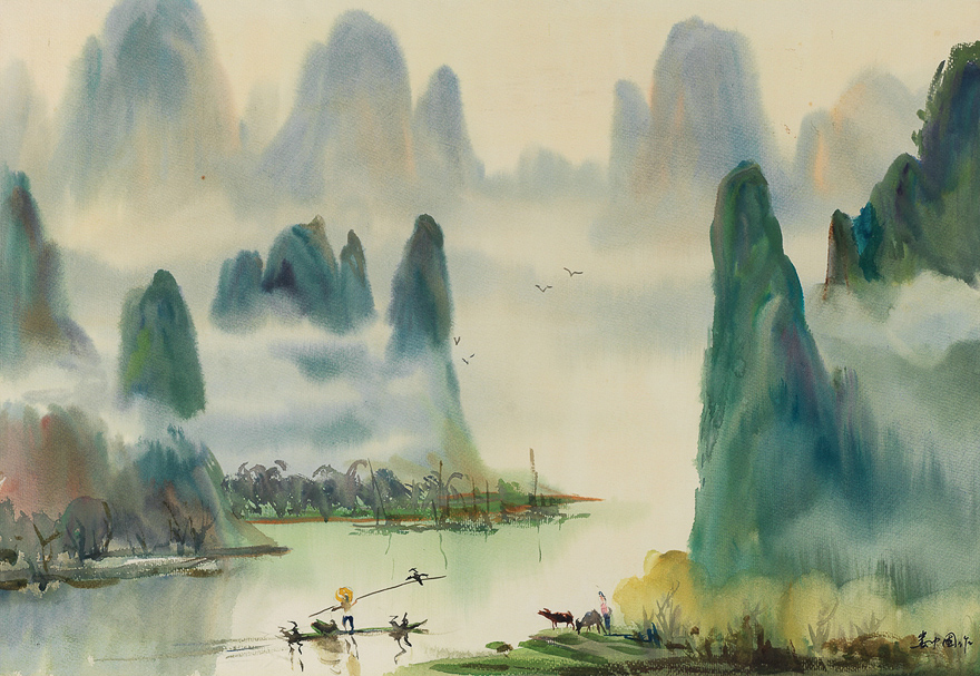 桂林上水甲天下