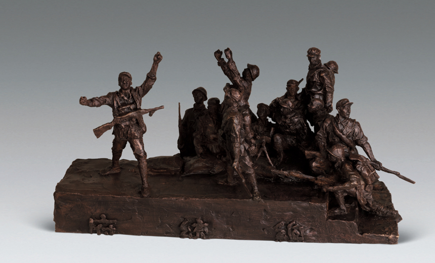 时代记忆——上海油画雕塑院50周年专题雕塑大型项目