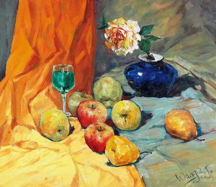 月季与水果