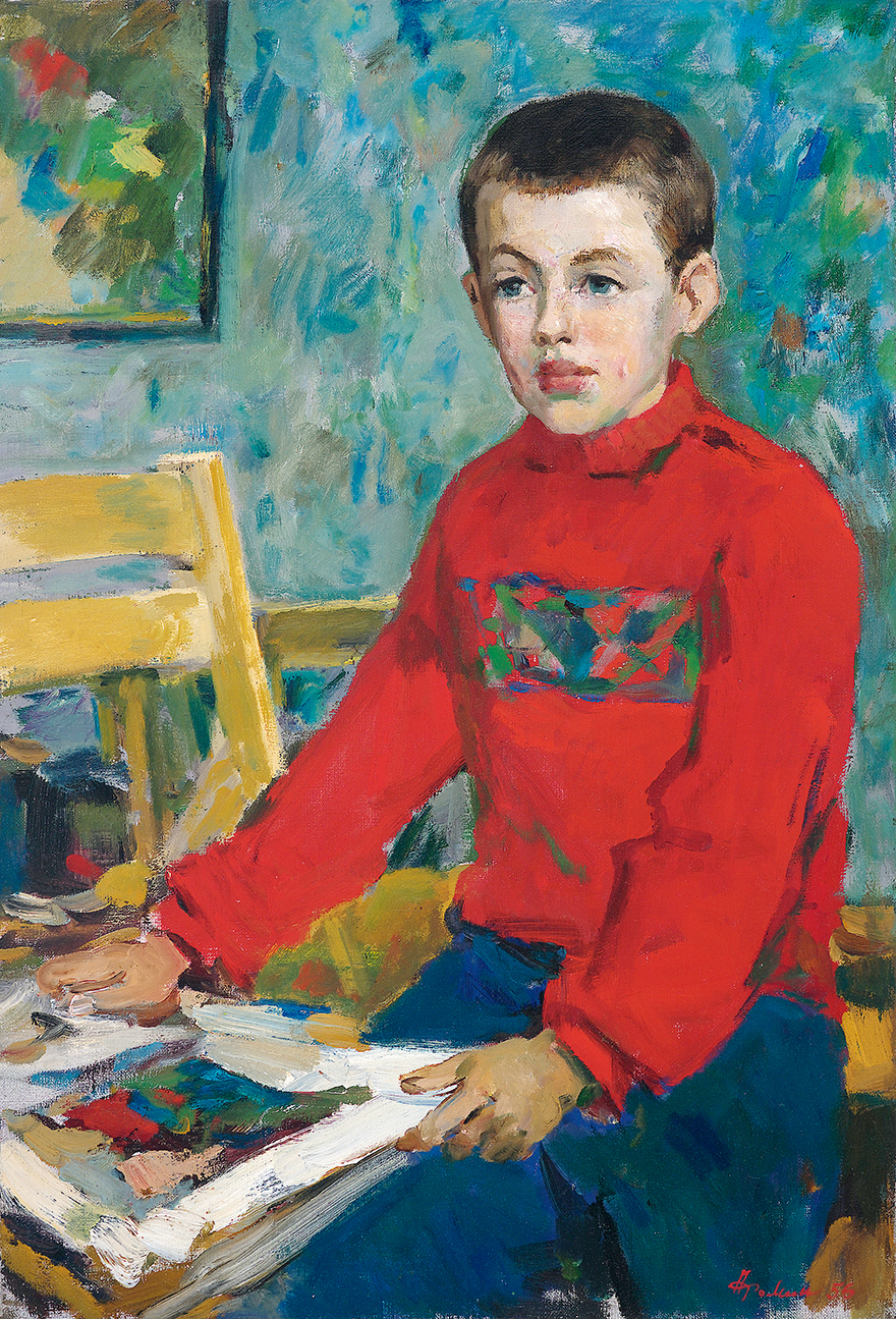 艺术家儿子的肖像