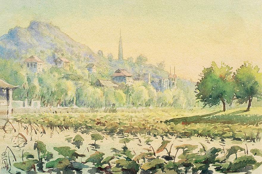 西湖保俶塔