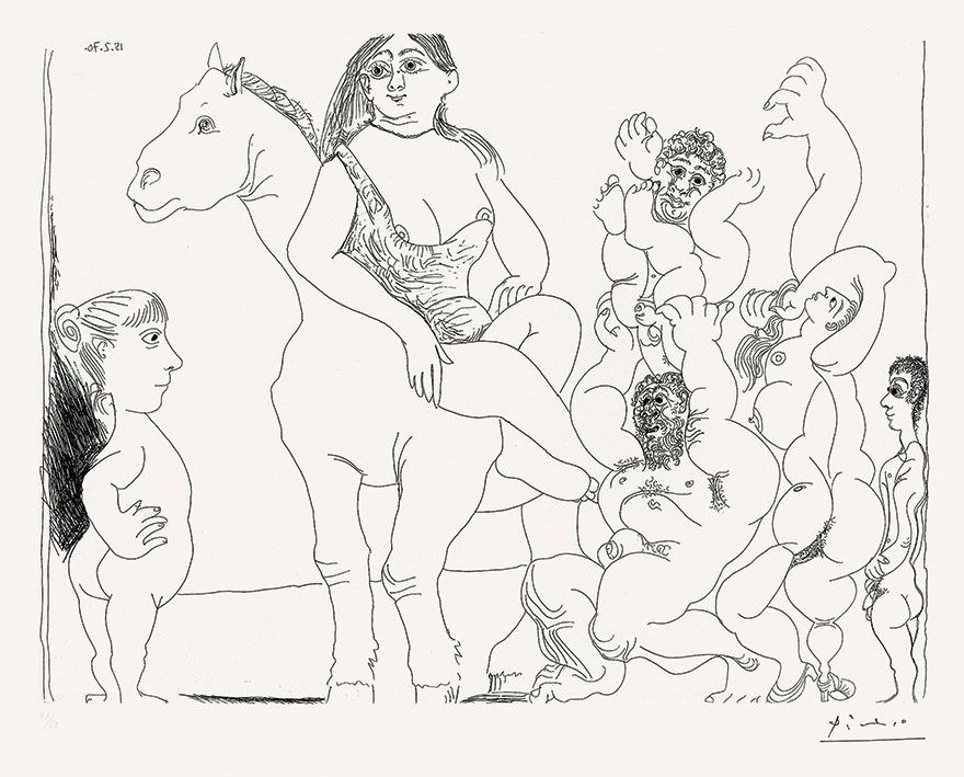 一个小女孩观察到的马戏团生活(156系列)