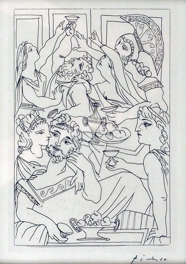 Picasso Lysistrata之一