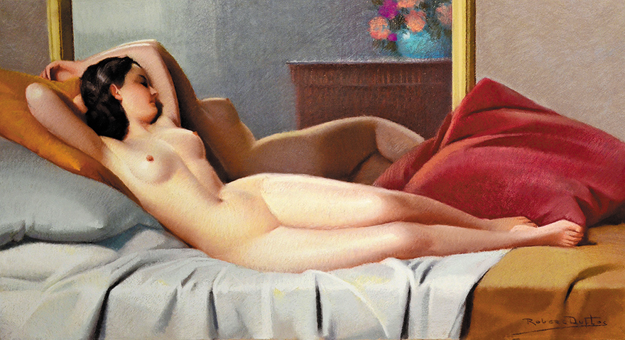躺着的裸女