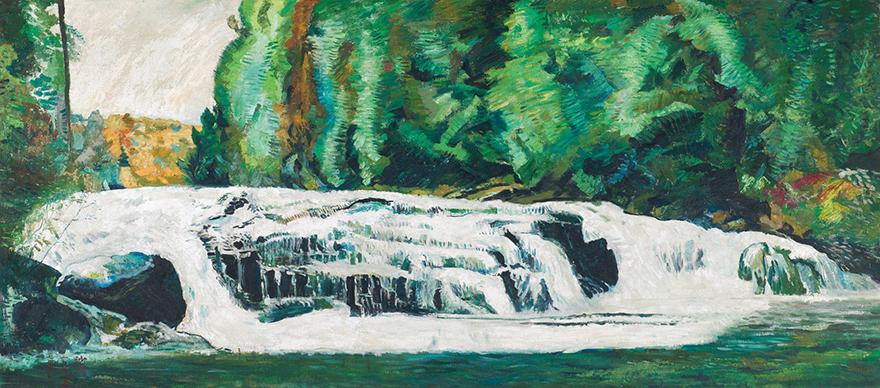 长白山森林溪流