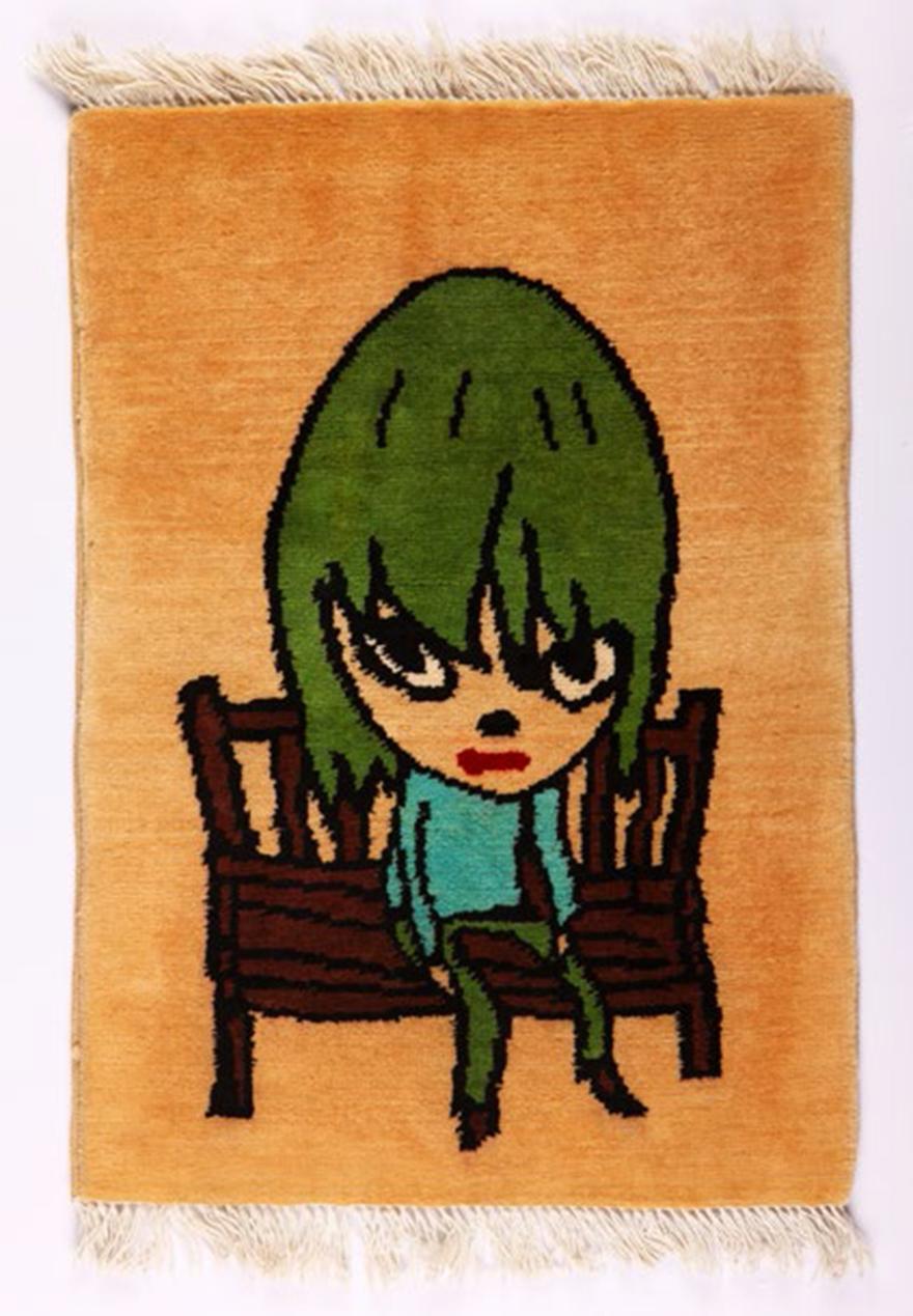 人物卡通地毯