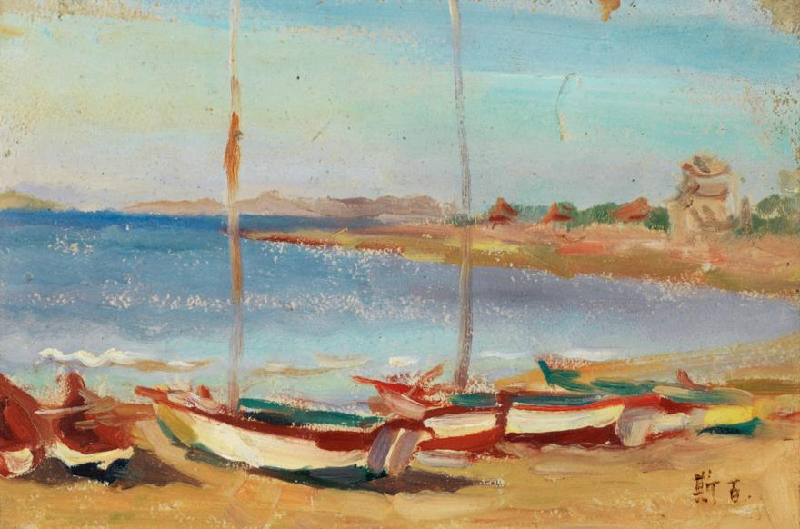海边的小船